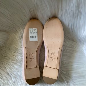 CHANEL Shoes - Chanel Lambskin & Patent coco Jazz Ballerina Flat